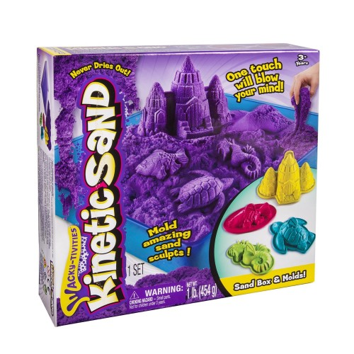 Kinetic Sand Sandbox and Activity