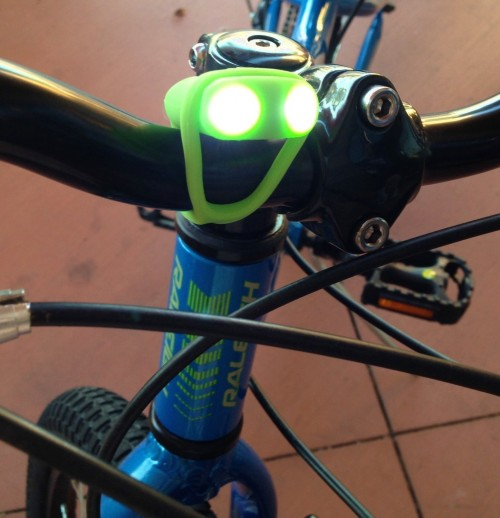 Lightening Frog Bicycle Light