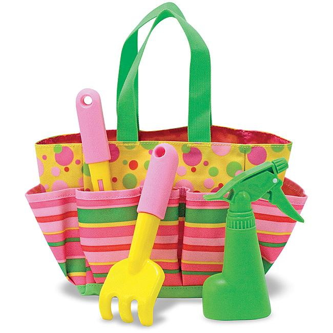 Easter basket ideas for kids outdoor toys everyday savvy melissa and doug kids gardening negle Gallery