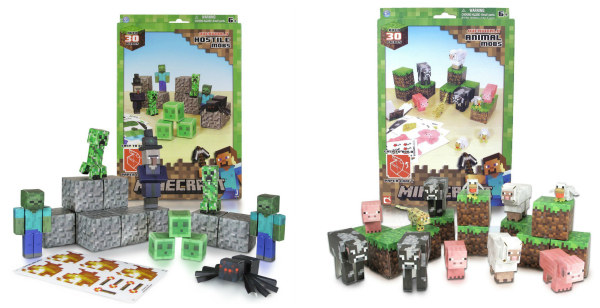 Minecraft Papercraft Sets