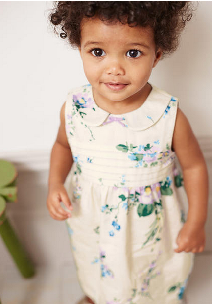 baby easter dress pretty printed