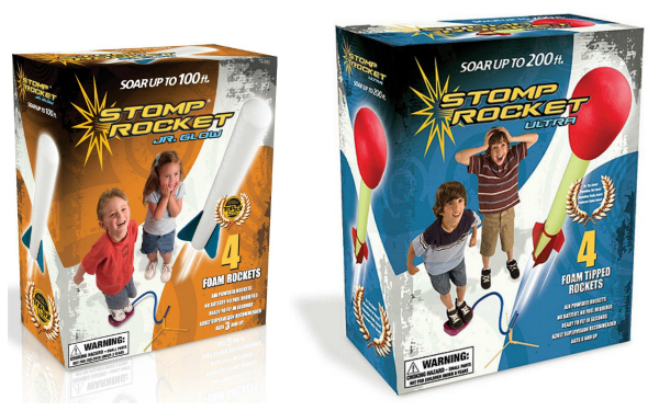 Stomp Rocket Jr. and Ultra Stomp Rocket