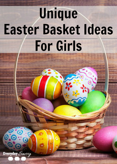 Unique Easter Basket Ideas for Girls - If you plan to build your own Easter basket this year and need some fun ideas for girls, we have found some great non-candy items. Lots of unique items at many price points.