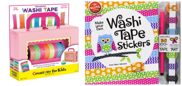 Washi Tape Crafts Gift Ideas for Girls