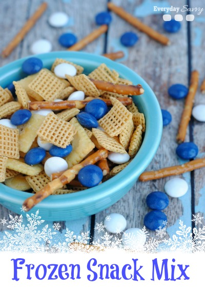 disney frozen snack mix