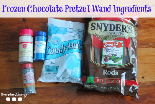 Disney Frozen Blue Chocolate Pretzel Ingredients