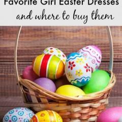 favorite little girl easter dresses