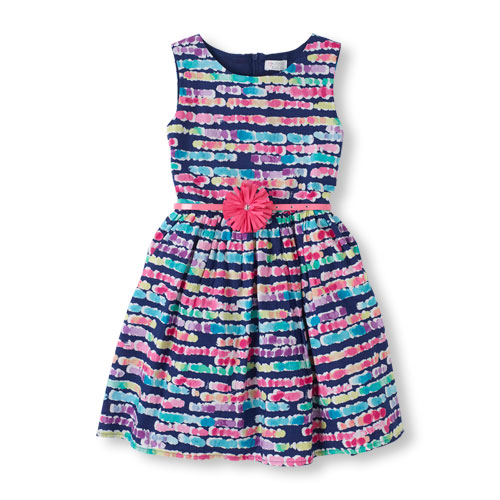 navy easter dress