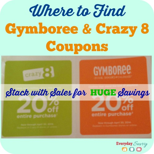 Exclusive Gymboree coupon code that stacks onto top current discounts.