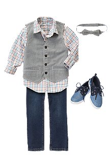 Crazy 8 Easter Outfit for Boys