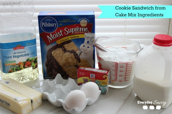 cookies sandwich recipes from cake mix