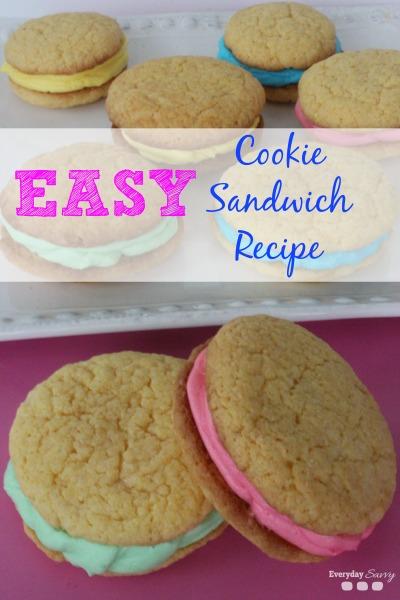 easy cookie sandwich recipe