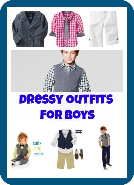 Dressy Outfits for Boys - Stylish Easter Outfits & More