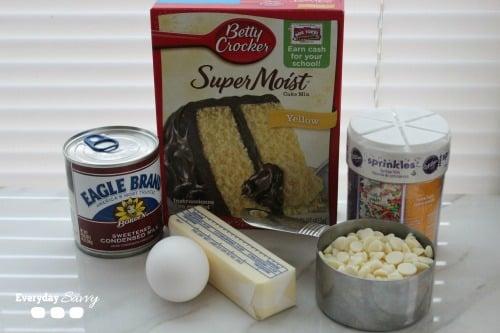 eastercakebaringredients