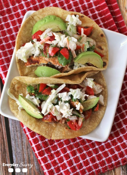 simple easy fish tacos recipe