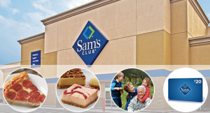 sams club voucher