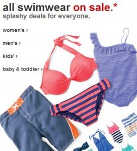 target swim sale