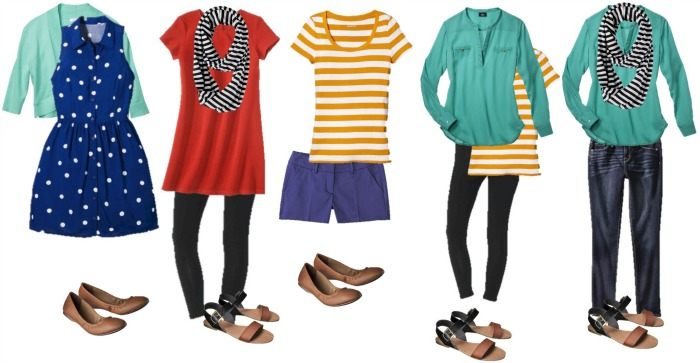 15 Mix and Match Outfits For Spring and Summer
