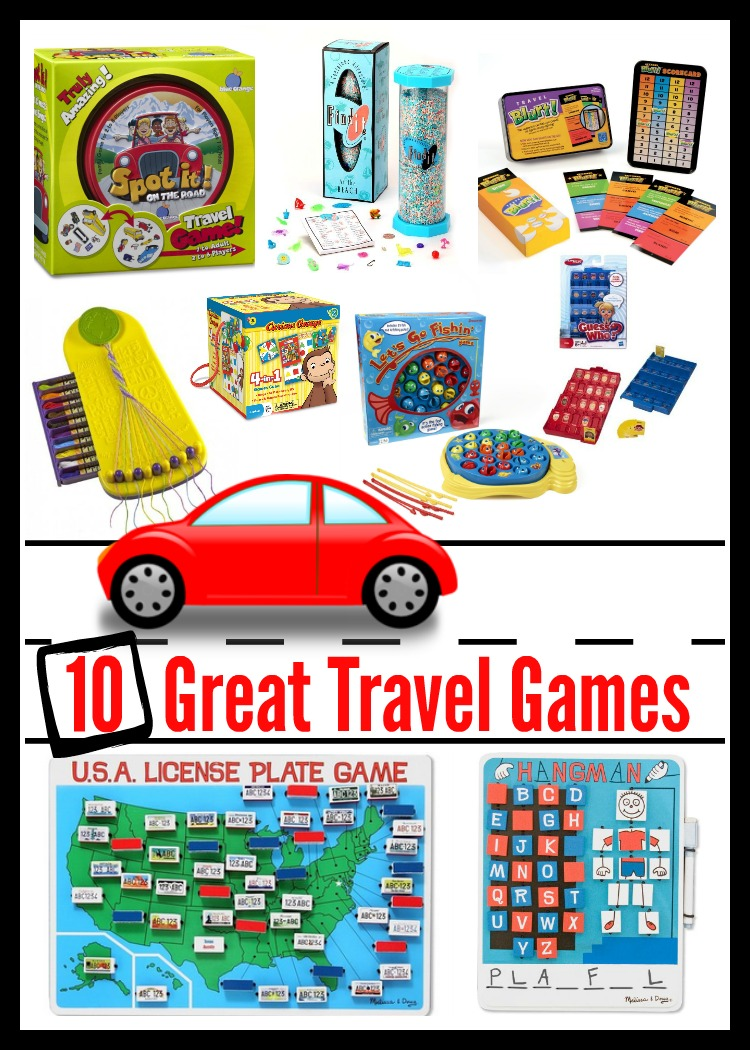 Looking for some great kid travel games? This list of travel games for kids includes car travel games and travel sized games to enjoy with the family.