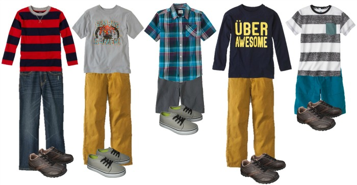 Boys School Clothing - Mix And Match Outfits - Everyday Savvy