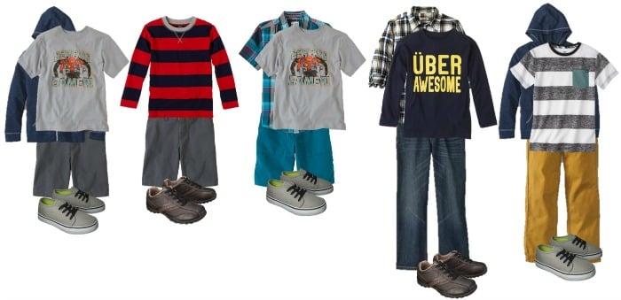 boys school clothings 11-15