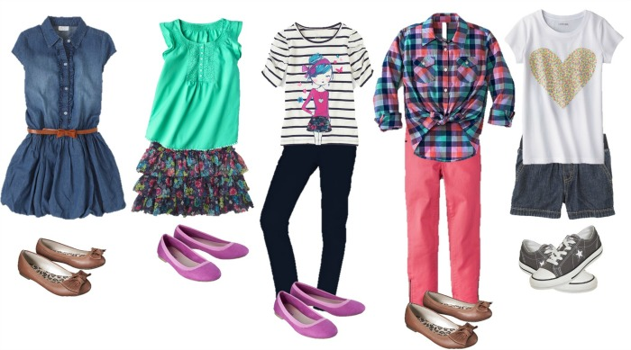 Back to School outfits for Girls 1-5