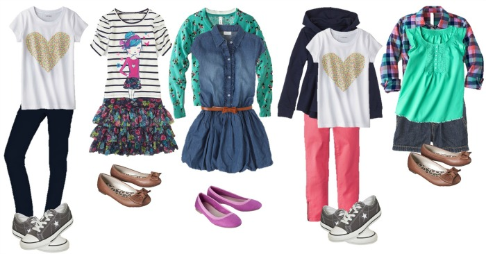 Back to School outfits Girls 6-10