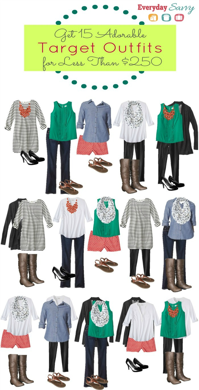 15 Mix and Match Outfit Ideas From Target