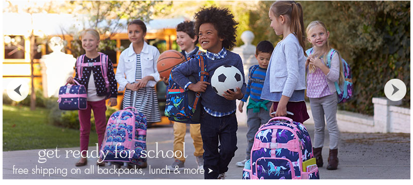 pottery barn kids backpacks