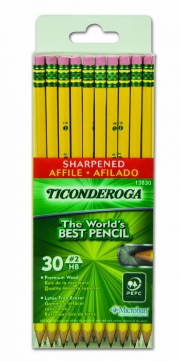 Ticonderoga World's Best Pencil