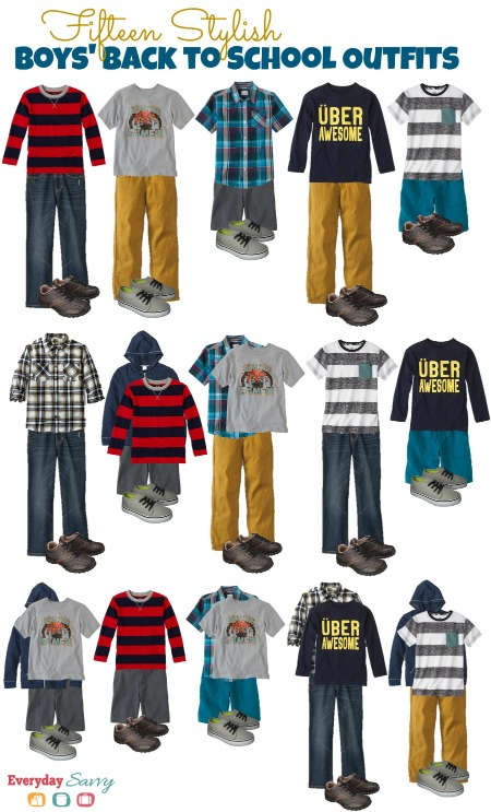 15 Stylish Boys' Back to School Outfits