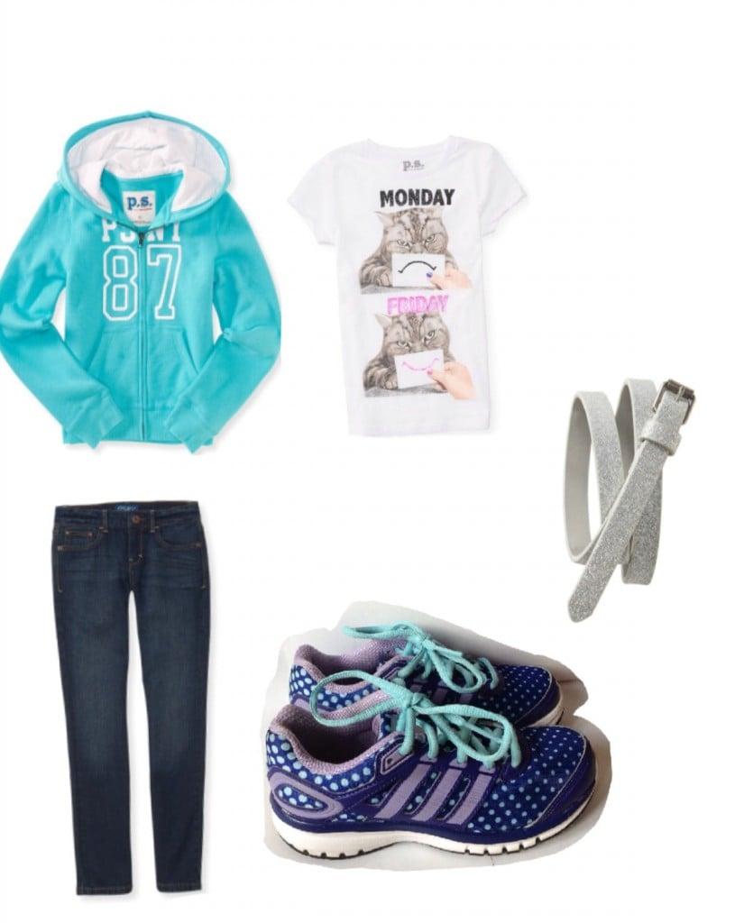 tween girl outfit