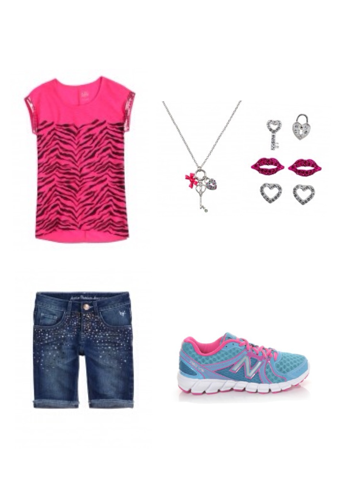 Middle School And Elementary School Back To School Outfits-4234