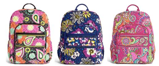 Vera Bradley Backpack Giveaway