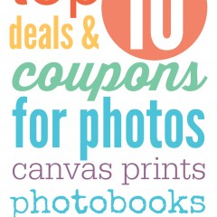 top 10 deals and coupons for photos