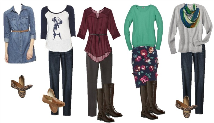 Target Fall Fashion 1-5