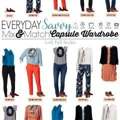 9.5 Capsule Wardrobe - Fall Styles from Loft VERTICAL