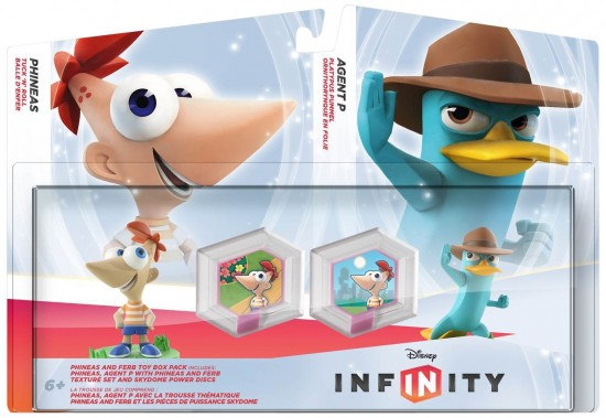 Disney Infinity Phineas and Ferb Play Set