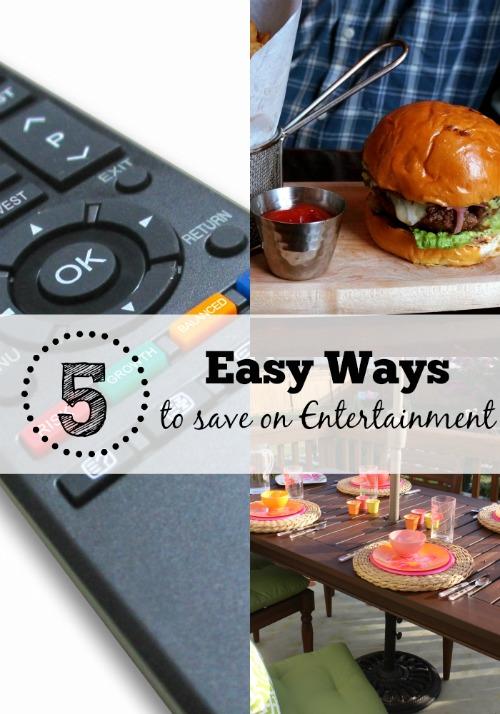 easy ways to save money on entertainment