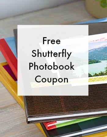free shutterfly photobook