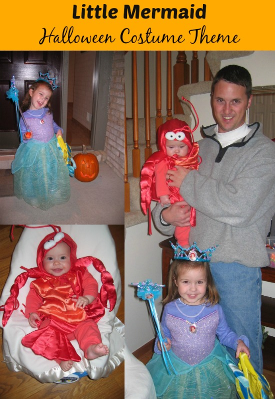 little mermaid family theme costumes