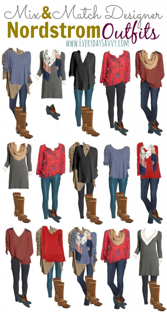 Mix And Match Fall Amp Winter Outfits From Nordstrom