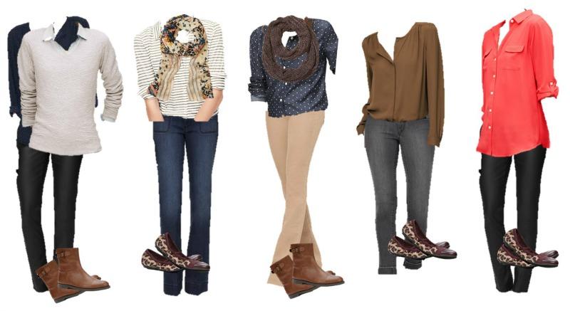 10.8 Loft Casual Fashion Board 1-5