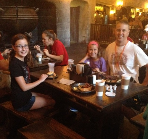 breakfast at leaky cauldron