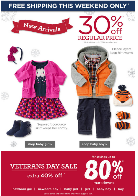 gymboree free shipping plus coupon