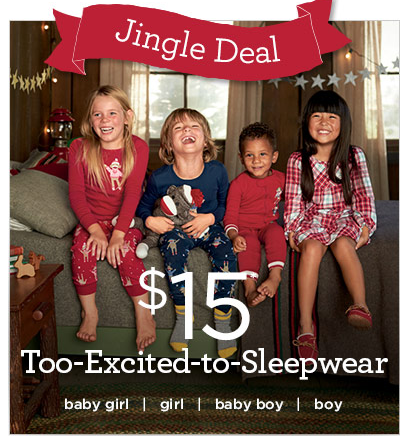 gymboree jingle deal pajamas