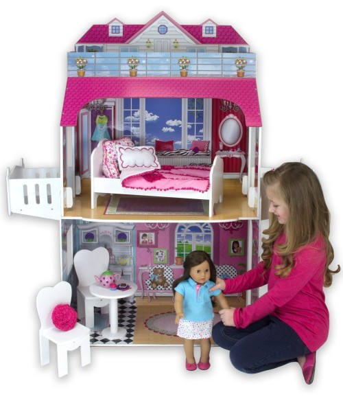 18 inch Two Story Doll House