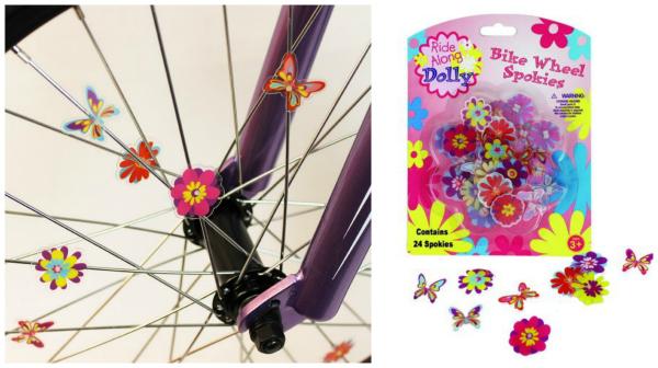 Bike Wheel Spokies Girls Stocking Stuffer