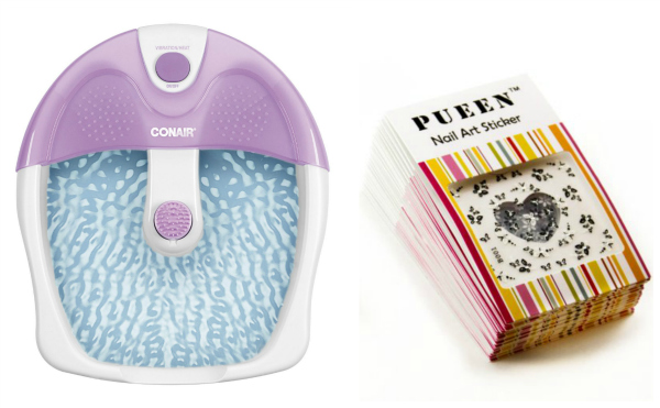 conair foot spa and nail decals gift idea for tween girls