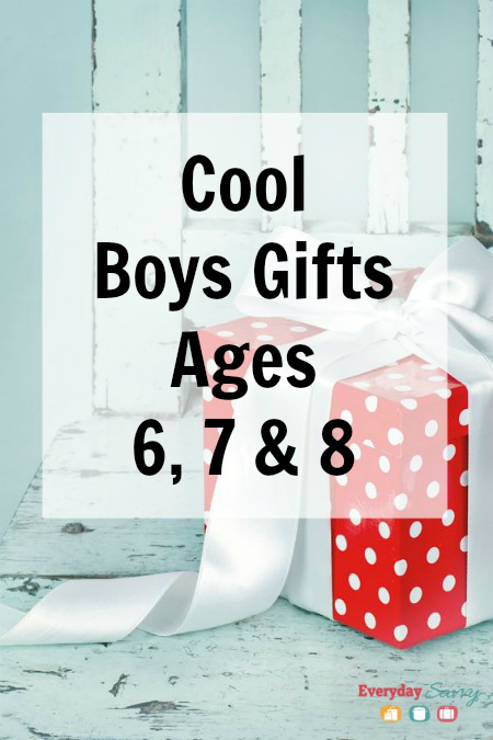 Cool Boys Gifts Ages 6 7 8